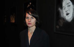 12-04-2013 Exhibition in Zacheta National Gallery of Art. Aneta Grzeszykowska Smierc i Dziewczyna Death and the Maiden